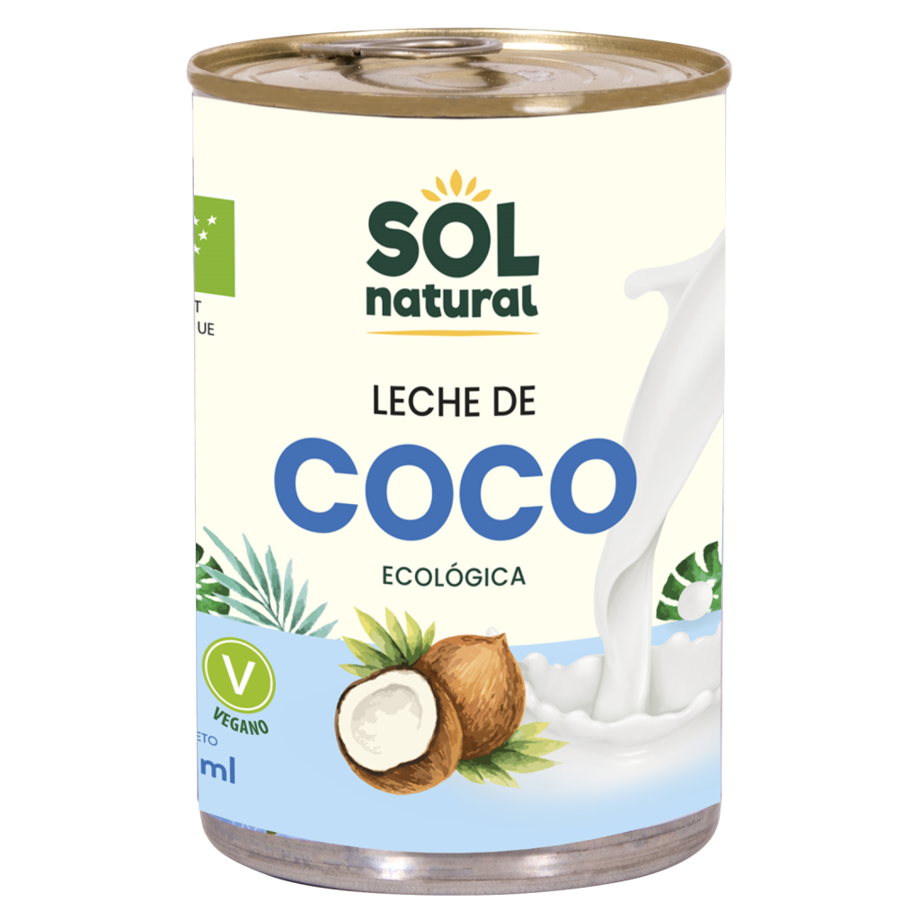 LECHE DE COCO EN LATA PARA COCINAR BIO