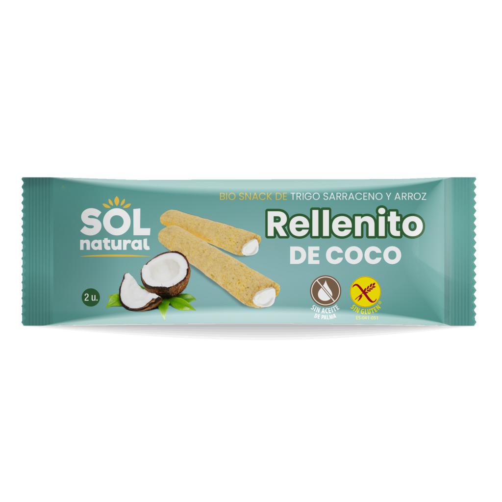 RELLENITO DE COCO BIO SIN GLUTEN