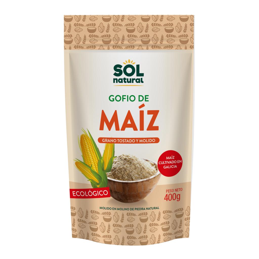 GOFIO DE MAÍZ INTEGRAL BIO