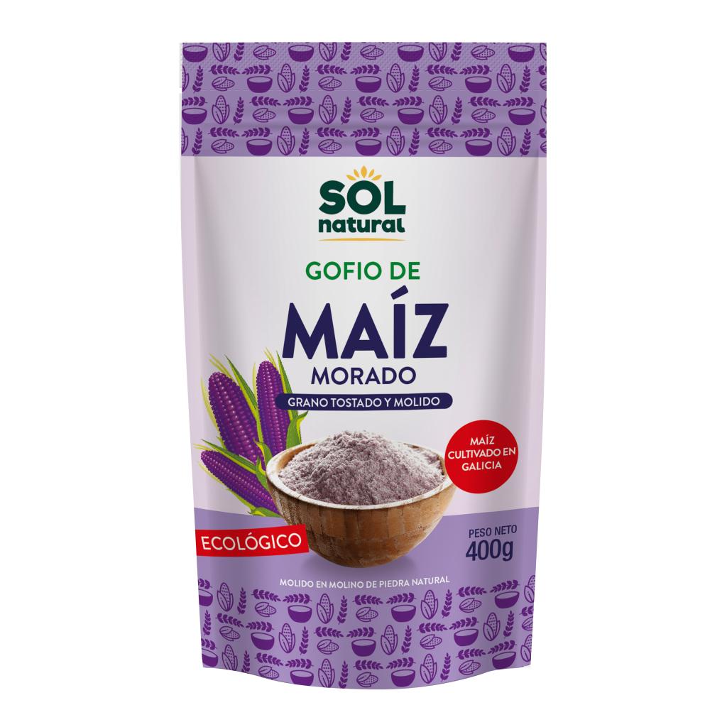 GOFIO DE MAÍZ MORADO INTEGRAL BIO