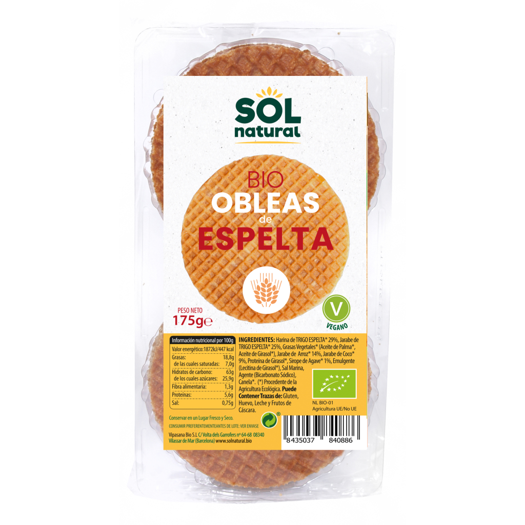 OBLEAS DE ESPELTA BIO