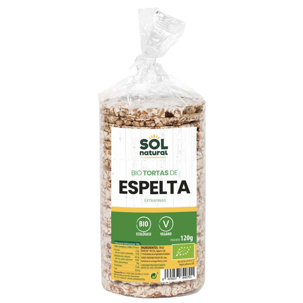 TORTAS DE ESPELTA EXTRAFINAS BIO