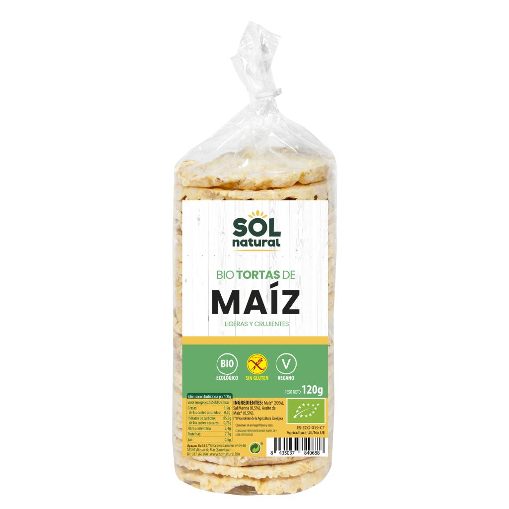 TORTAS DE MAÍZ BIO