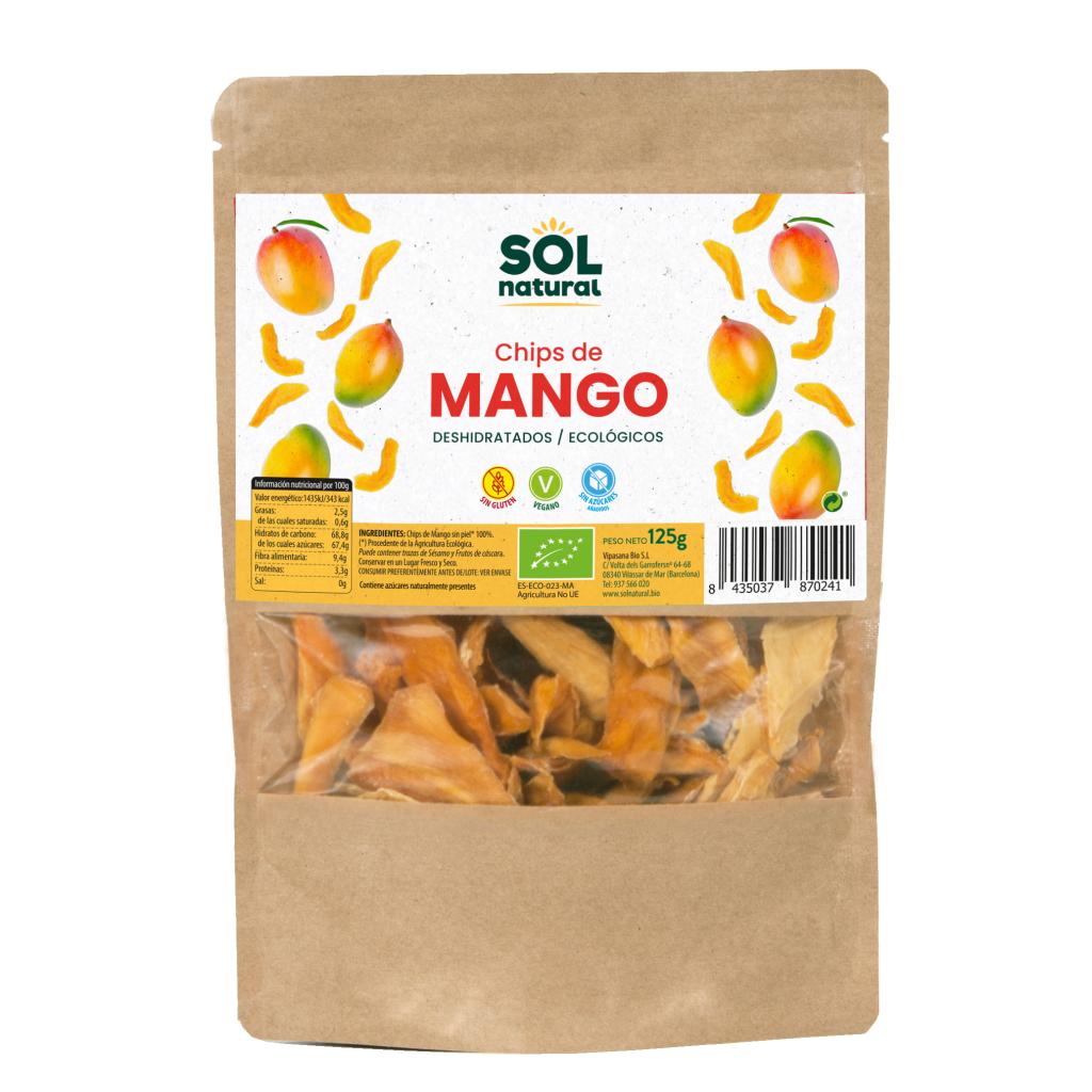 CHIPS DE MANGO BIO