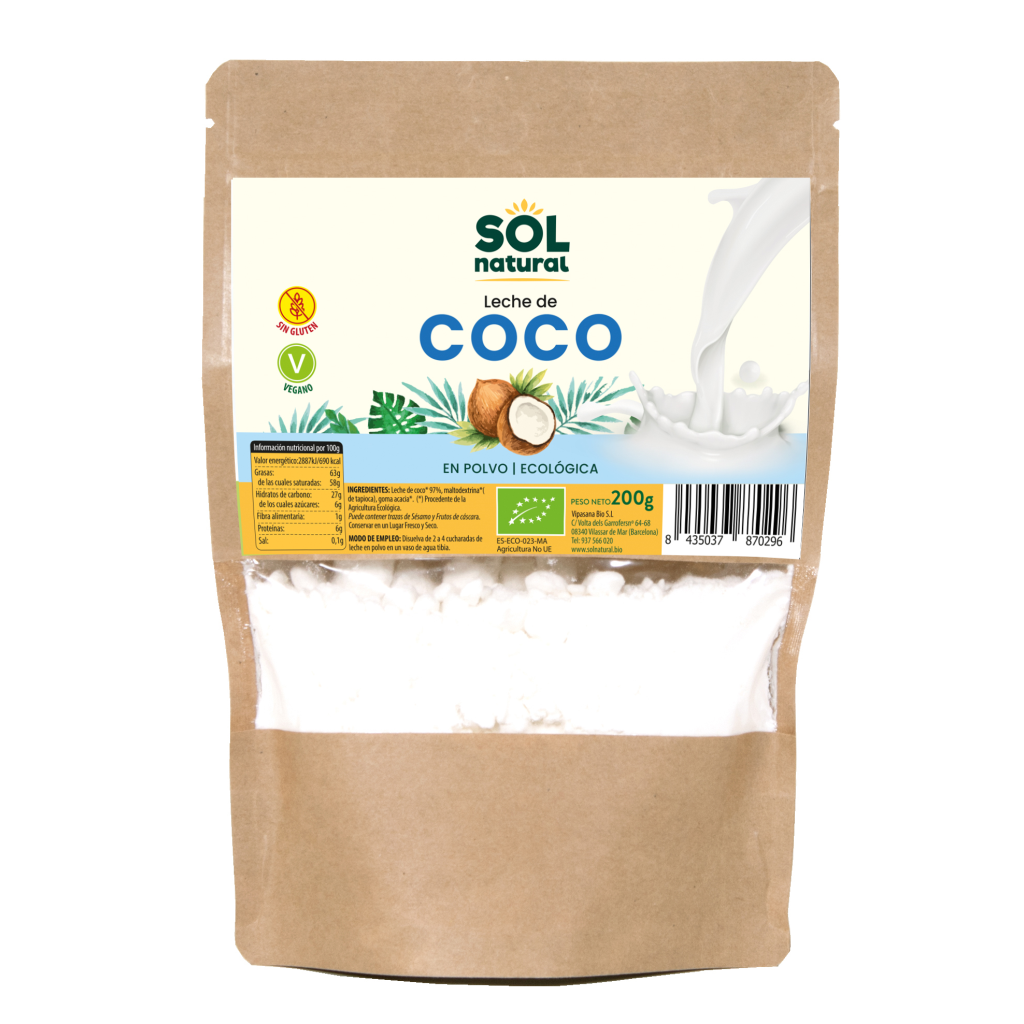 LECHE DE COCO EN POLVO BIO