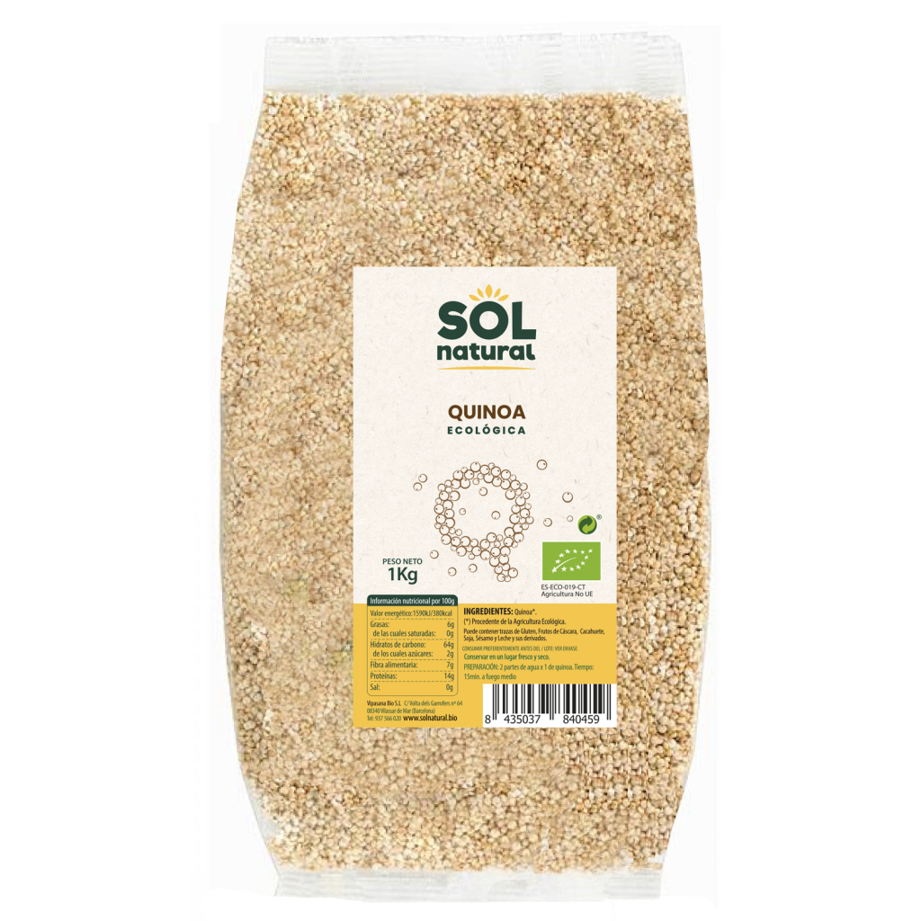 QUINOA BIO FORMATO FAMILIAR