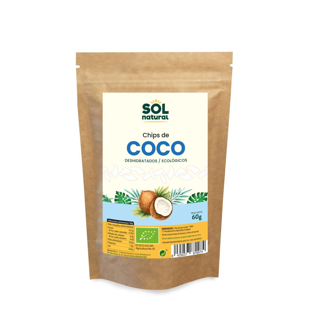 CHIPS DE COCO SRI LANKA BIO