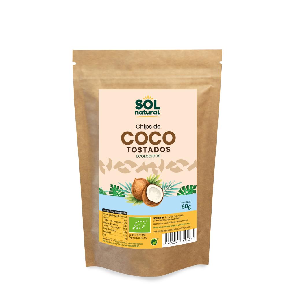 CHIPS DE COCO TOSTADO SRI LANKA BIO
