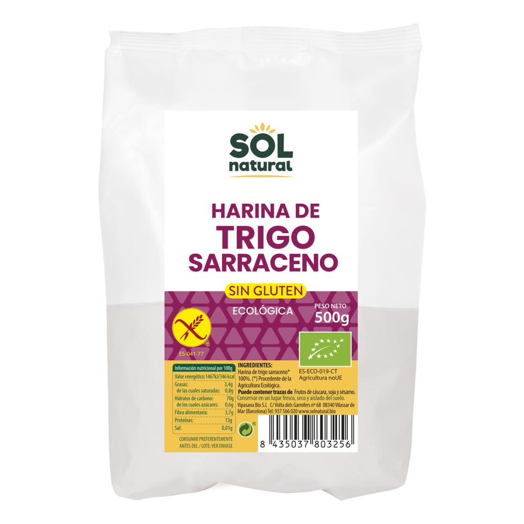 HARINA DE TRIGO SARRACENO SIN GLUTEN BIO