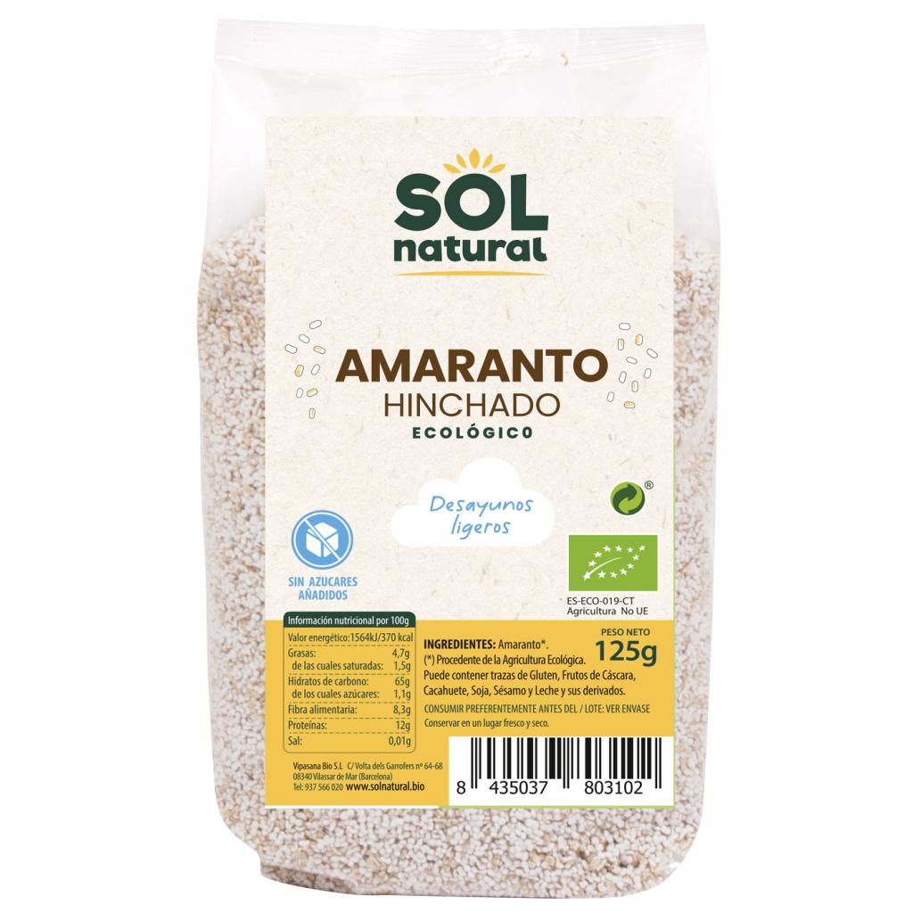 AMARANTO HINCHADO DESAYUNO BIO