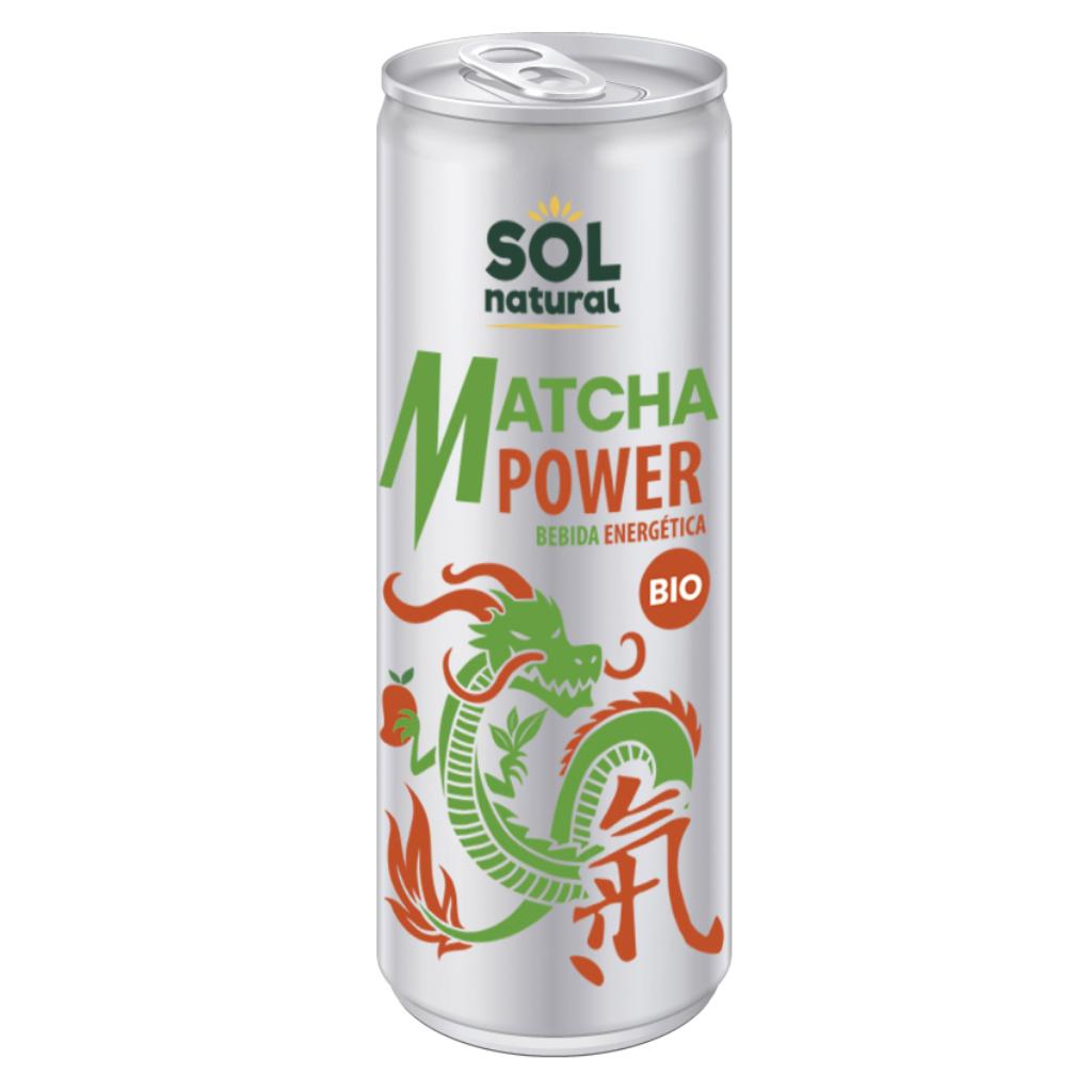 BEBIDA ENERGÉTICA MATCHA POWER BIO