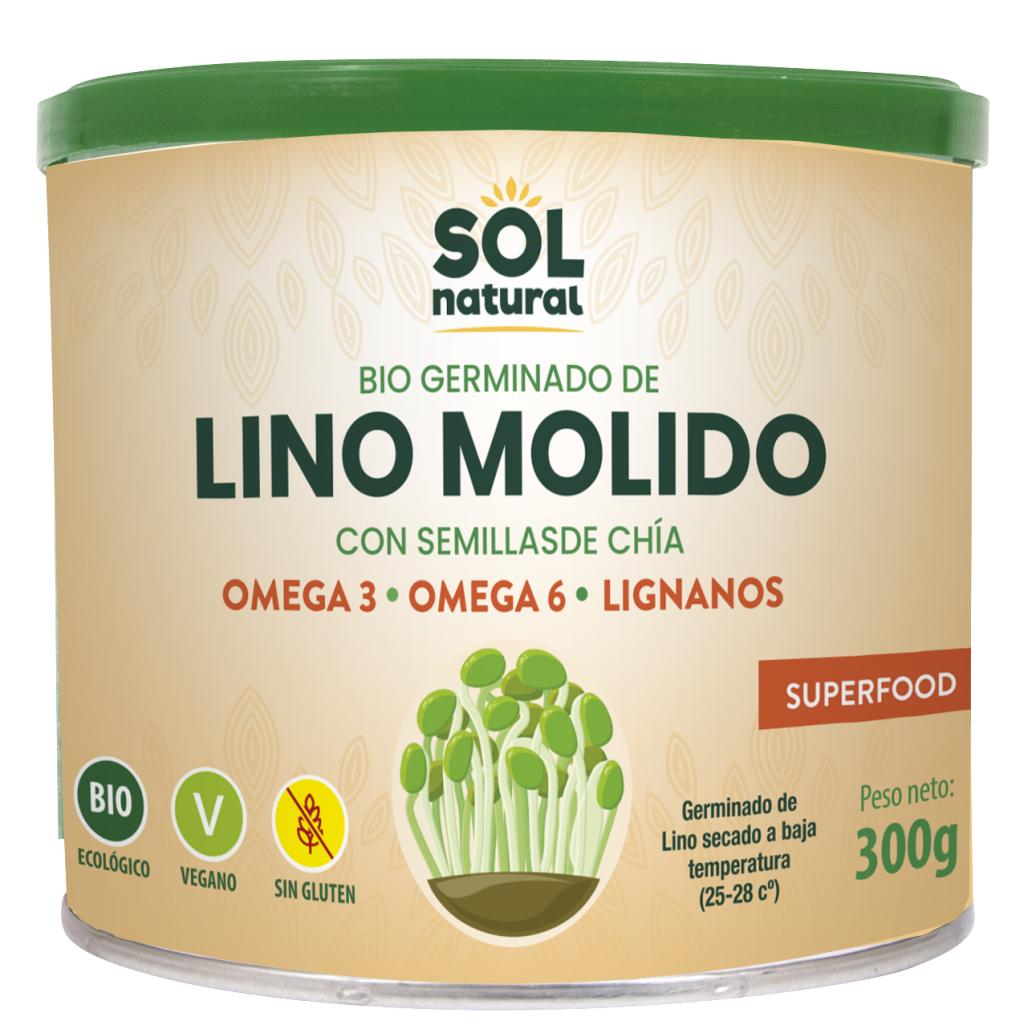 GERMINADO DE LINO MOLIDO CON CHÍA BIO