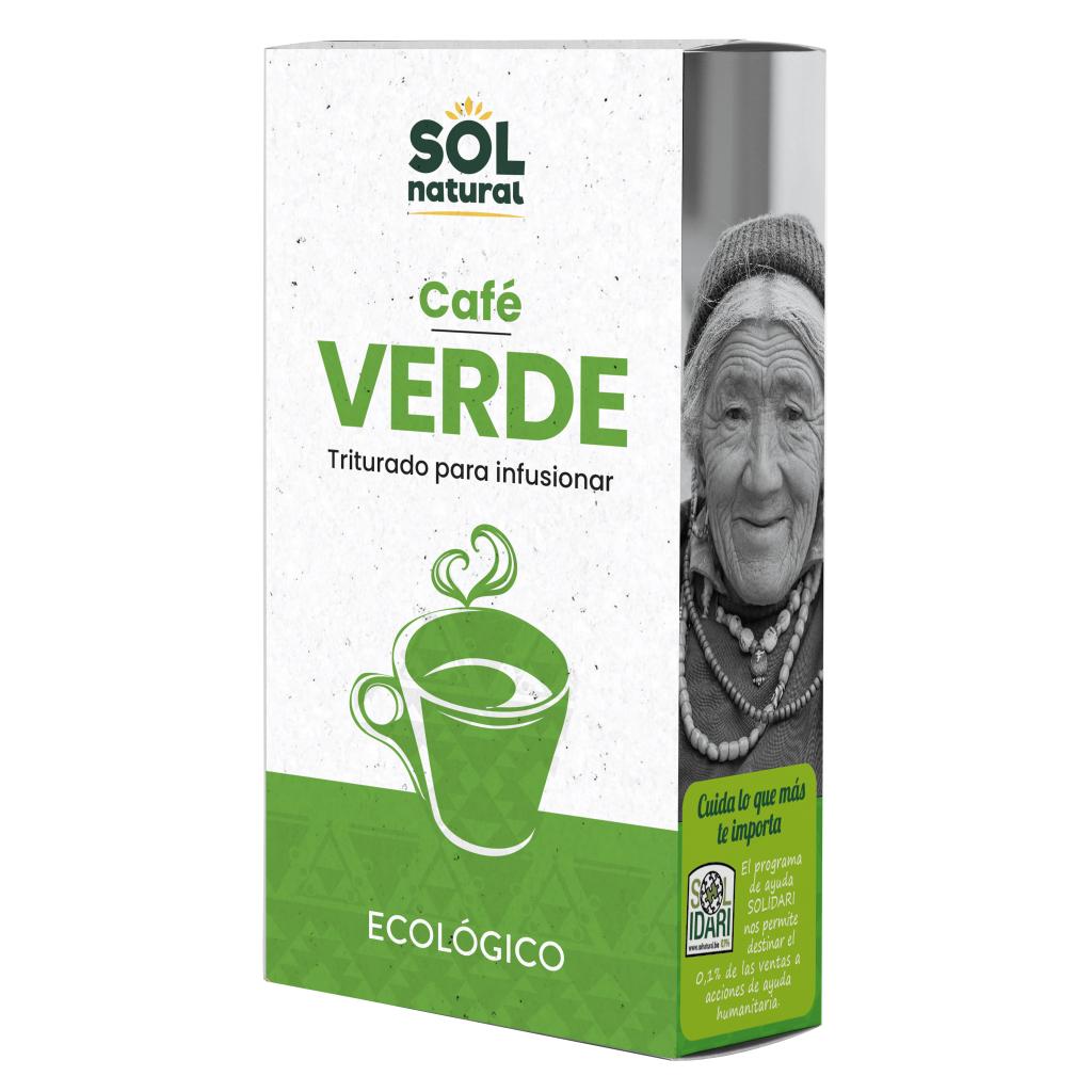 CAFÉ VERDE MOLIDO BIO