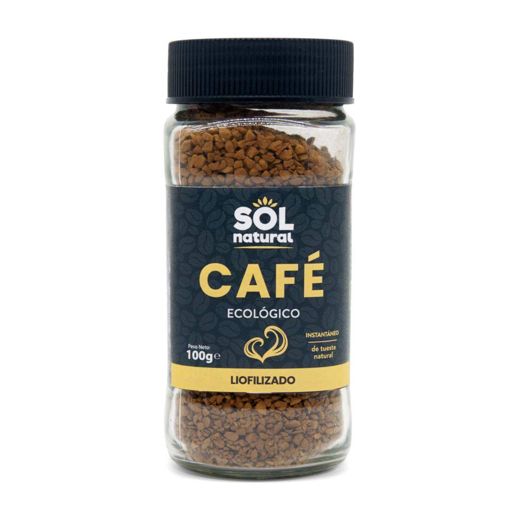 CAFÉ INSTANTÁNEO LIOFILIZADO BIO