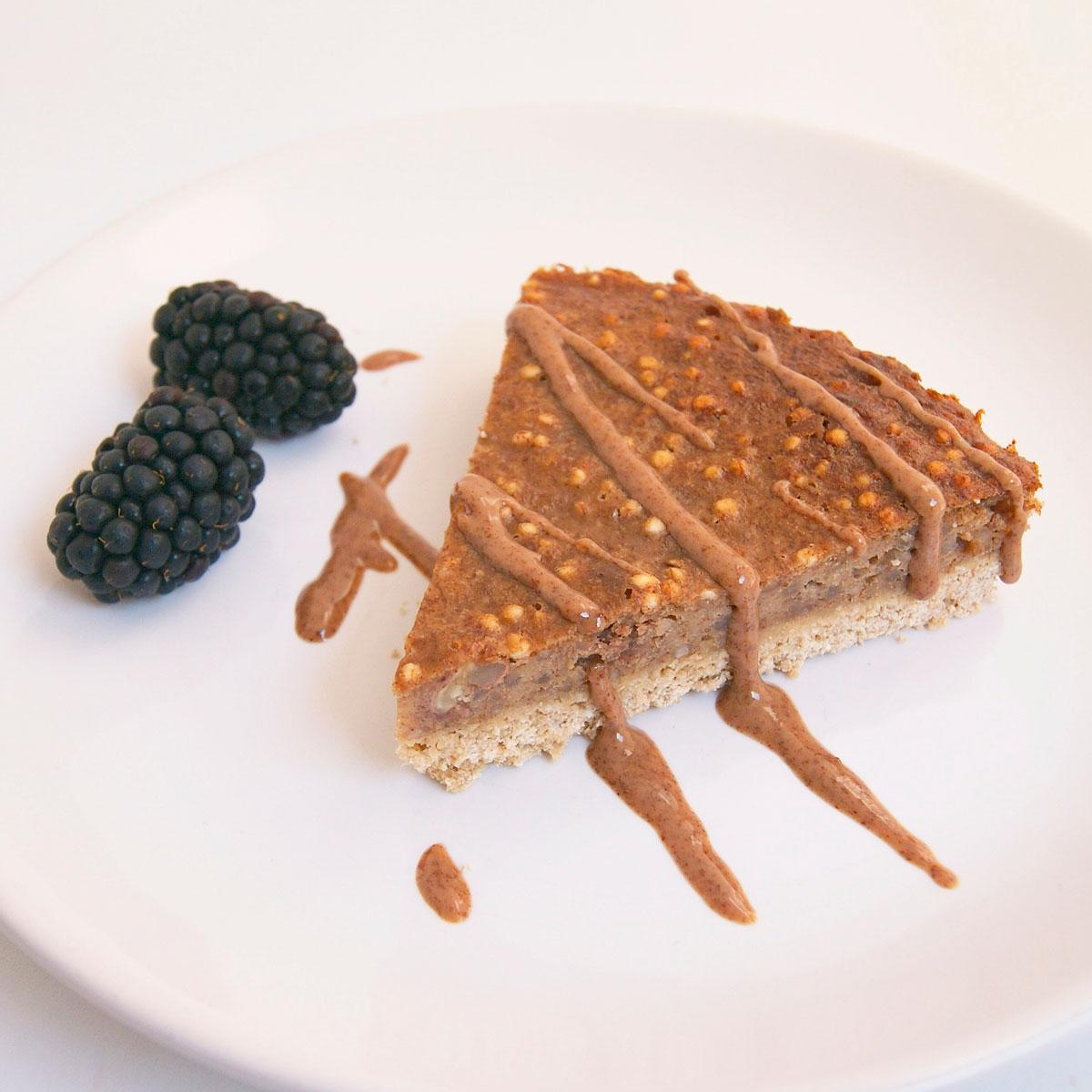 Tartaleta de Quinoa, Avena y Plátano