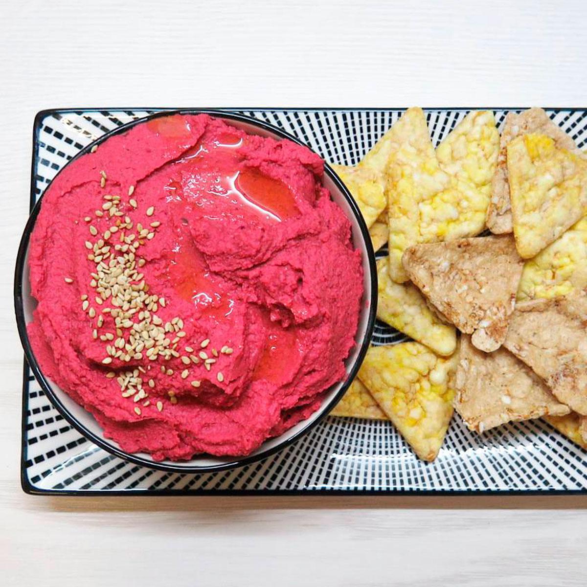 Pink Hummus